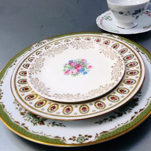 antique china place setting rental in detroit