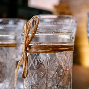 jelly jar antique china rental