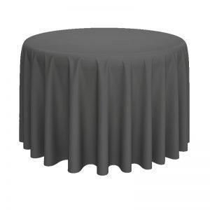 round table linen rental